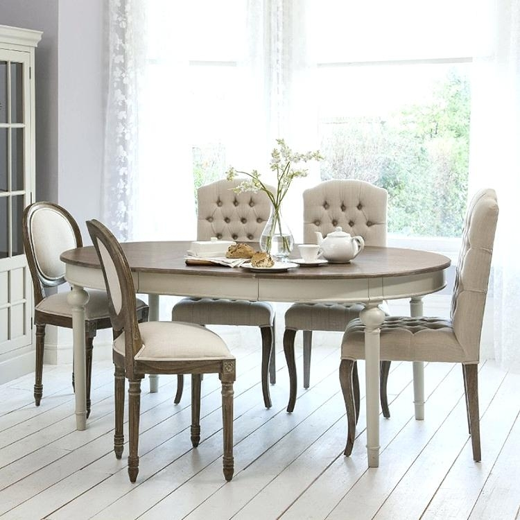 Chic Dining Table French Tables Ideas Shabby Chairs And Bench With French Chic Dining Tables (Image 4 of 25)