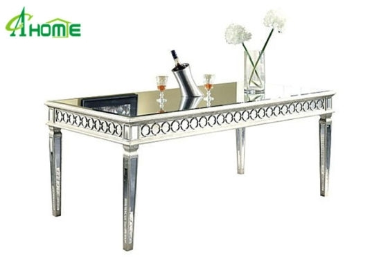 China Classic Hobby Lobby Dining Room Furniture Mirrored Dining Intended For Mirrored Dining Tables (Image 5 of 25)