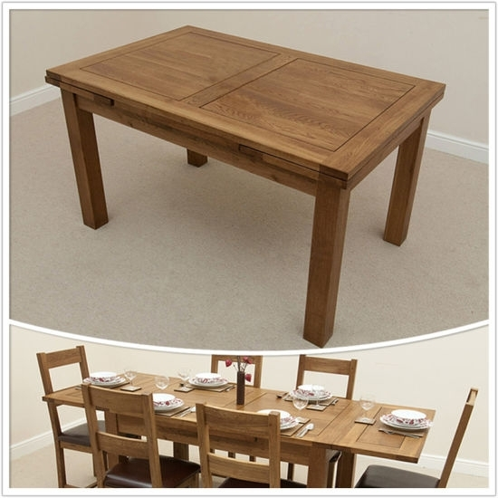 China Dining Room Furniture/3Ft X 3Ft Solid Oak 4To 6 Extending Regarding 3Ft Dining Tables (View 15 of 25)
