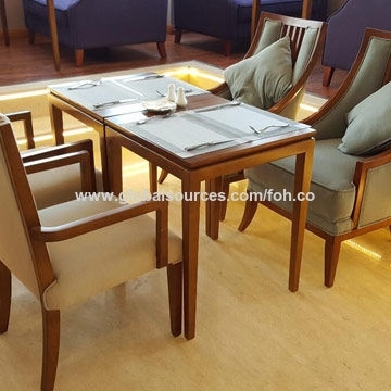 China Heavy Duty Solid Wood Dining Tables With Seating American with Market Dining Tables