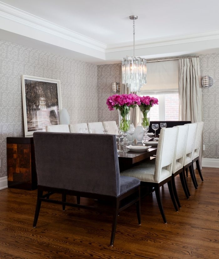 Choose 10 Seater Dining Table With Bench Better Comfort Of Whole Intended For Dining Table And 10 Chairs (Image 13 of 25)