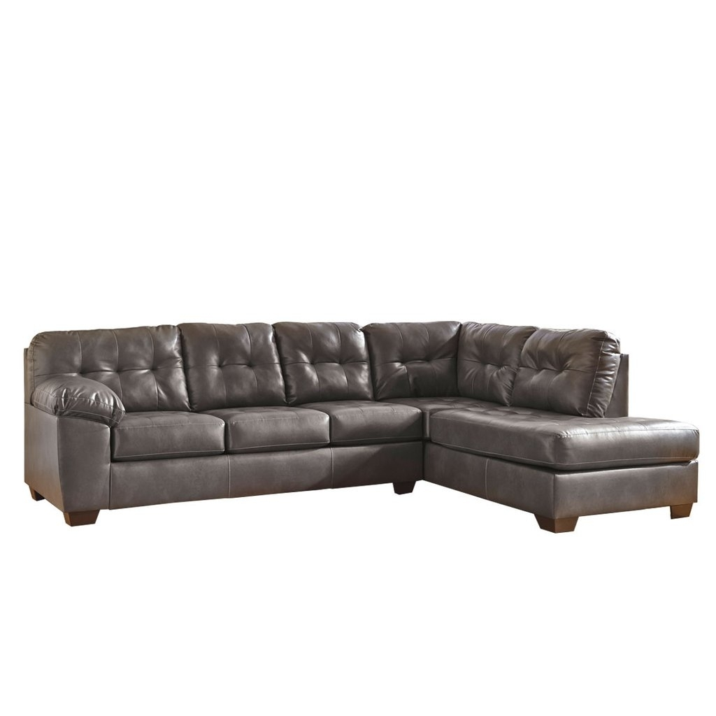 Choosing 2 Piece Sectional Sofa – Elites Home Decor For Evan 2 Piece Sectionals With Raf Chaise (Image 7 of 25)
