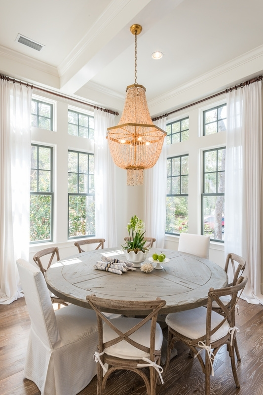 Choosing The Right Size And Shape Light Fixture For Your Dining Room In Over Dining Tables Lights (Image 6 of 25)