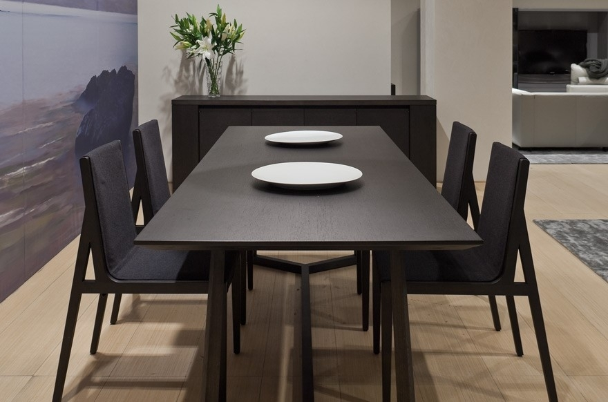 Christmas Dining Tables – Modern Designer Furniture And Sofas In Dark Dining Tables (Image 5 of 25)
