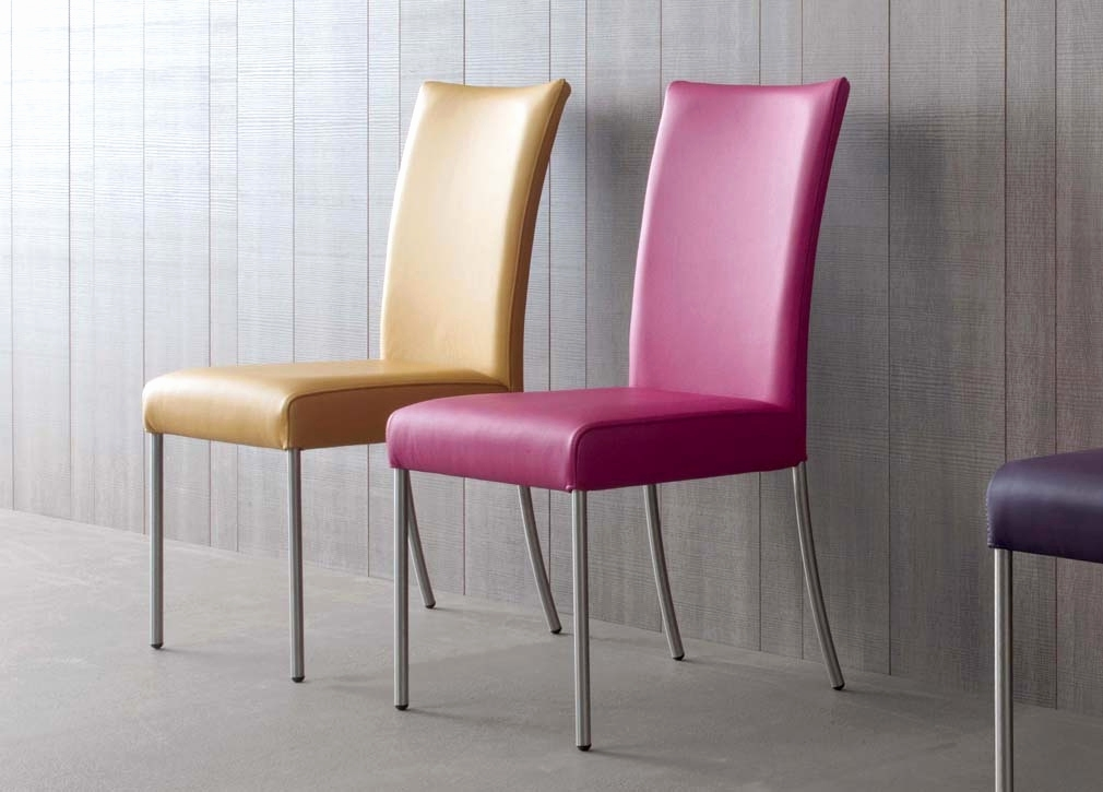 Chrome And Leather Dining Chairs Best Of Wire Dining Chair – Dining In Chrome Leather Dining Chairs (Image 8 of 25)