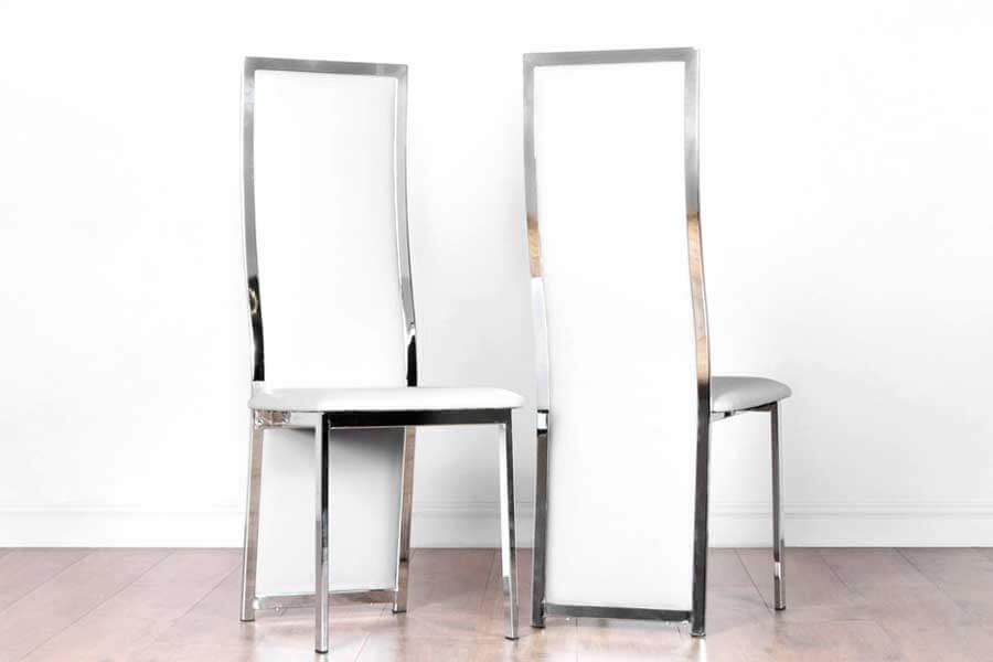 Chrome Dining Chairs | Furniture Choice With Chrome Dining Sets (Image 5 of 25)