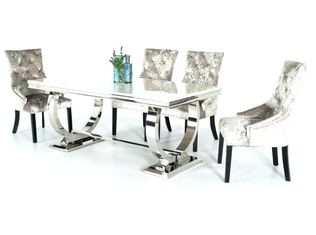 Chrome Dining Chairs Set 8 Brass And Of 2 Uk Chrom Torres Chair In Throughout Chrome Dining Room Chairs (View 12 of 25)