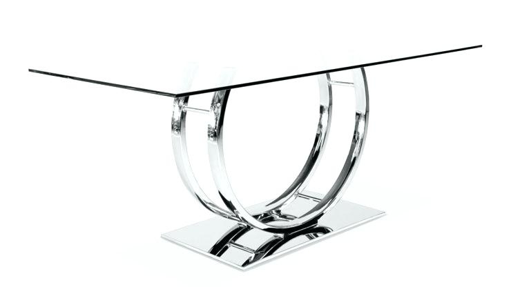 Chrome Dining Tables – Tinvietkieu Throughout Chrome Dining Tables (Image 3 of 25)