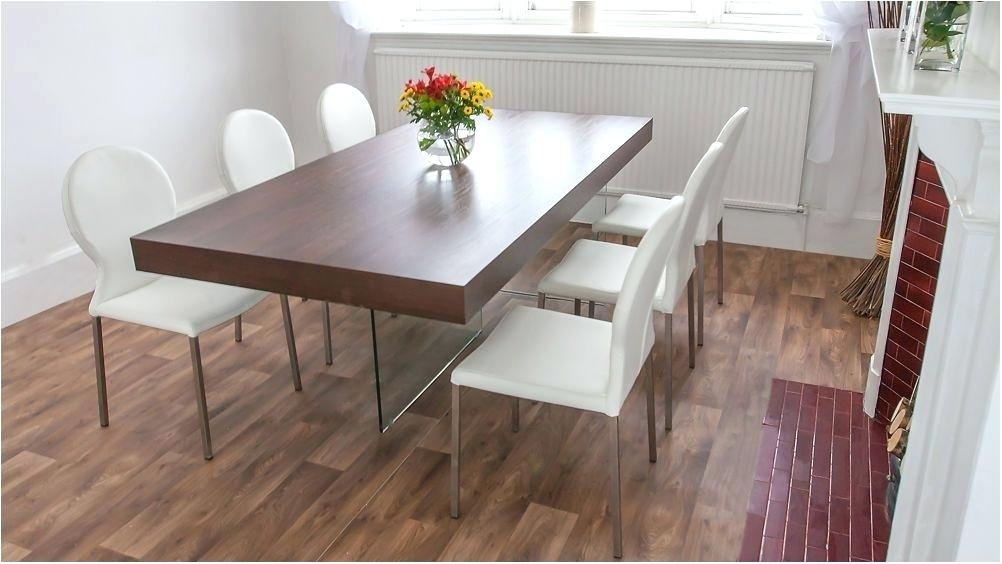 Chunky Wood Dining Table Chunky Wood Dining Table Chunky Wooden Within Dark Wooden Dining Tables (Image 6 of 25)