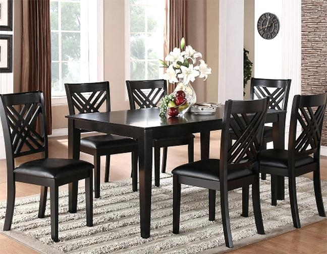 Ciara Espresso 5 Pc Counter Height Dining Set Room Sets For Design 9 Regarding Caira 9 Piece Extension Dining Sets (View 24 of 25)