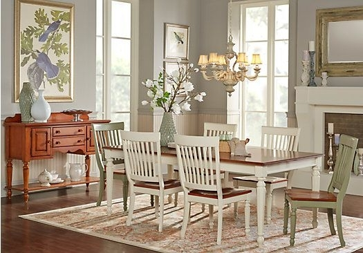 Cindy Crawford Home Ocean Grove White 5 Pc Rectangle Dining Room Regarding Crawford 6 Piece Rectangle Dining Sets (Image 13 of 25)
