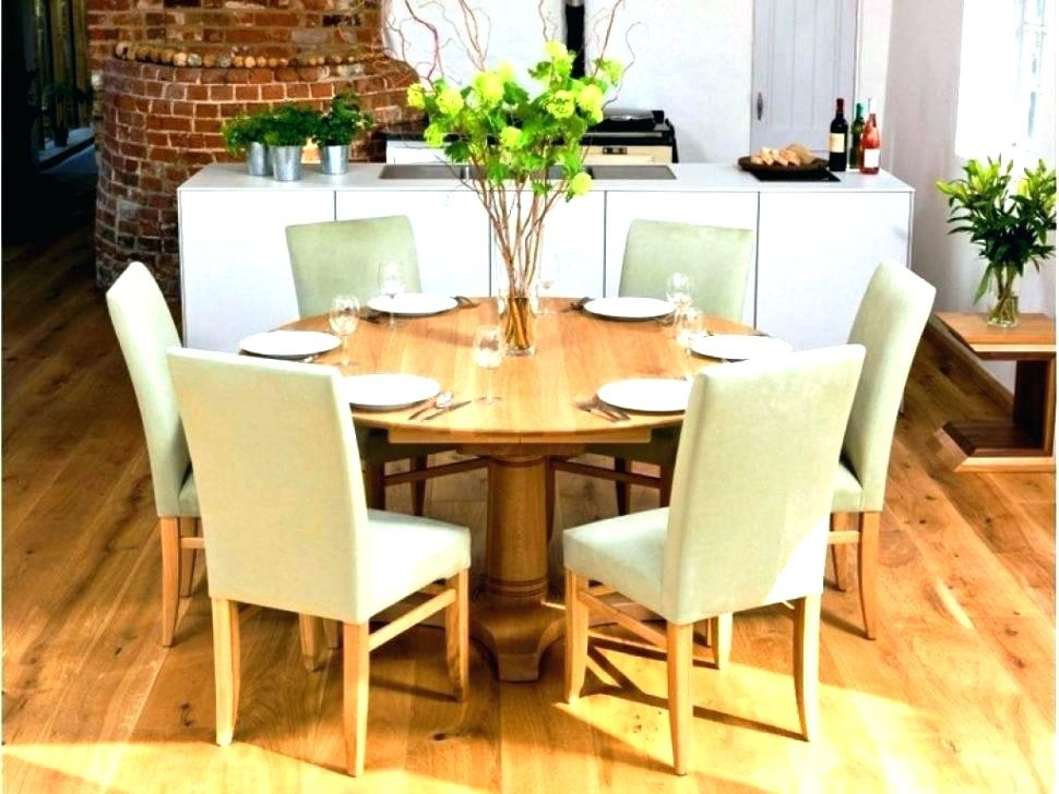 Circle Dining Table Circle Wood Dining Table Round Dining Table For Regarding Circular Dining Tables (Image 7 of 25)