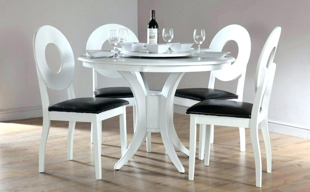 Circle Dining Table Room White Round Set For 4 Tables Size – Rlci For White Circular Dining Tables (Image 5 of 25)