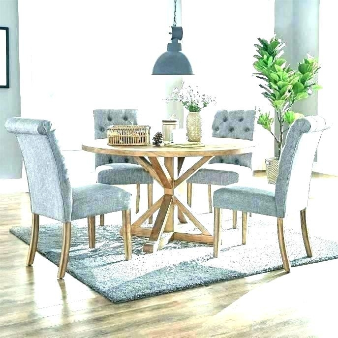 Circle Dining Table Set Circle Dining Table Set Large Round Dining Within Circular Dining Tables For  (Image 5 of 25)