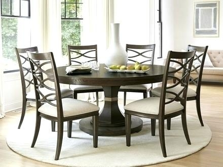 Circular Dining Table For 6 Round Extending And Chairs Seater Sets With Black Circular Dining Tables (Image 9 of 25)