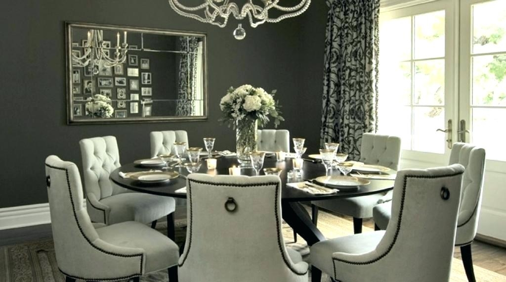 Circular Dining Table For 8 Round Dining Room Tables For 6 Large For Circle Dining Tables (Image 6 of 25)
