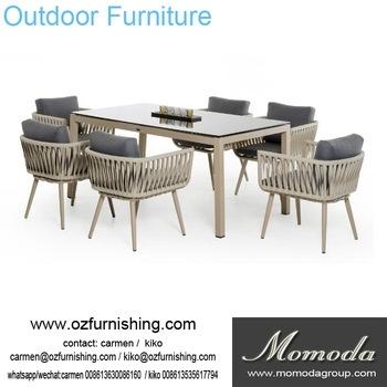 Ck207 Modern Outdoor Furniture Garden Dining Table Set Dining Table Within Garden Dining Tables And Chairs (View 8 of 25)