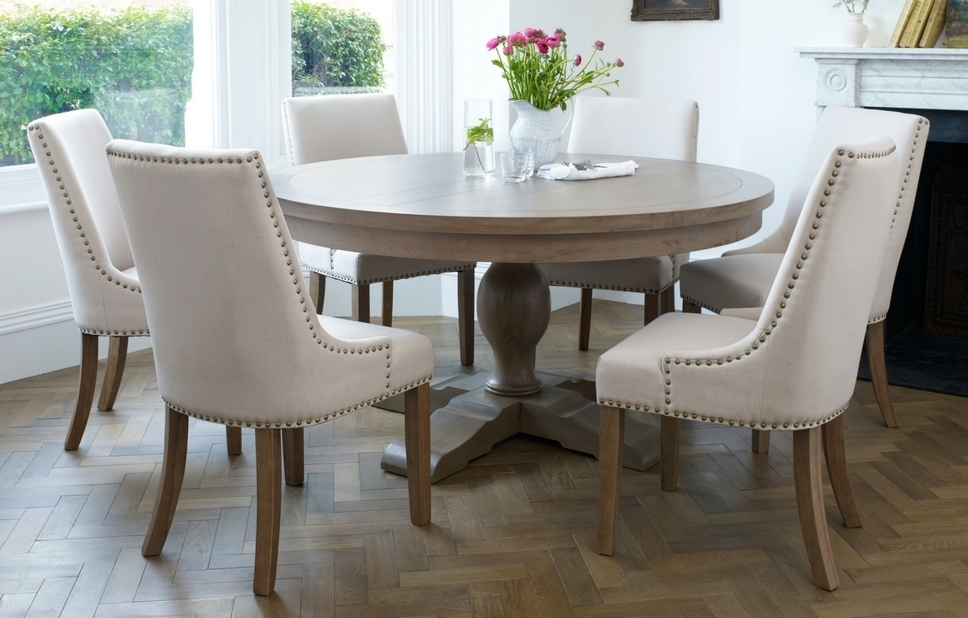 Featured Photo of 6 Seater Round Dining Tables