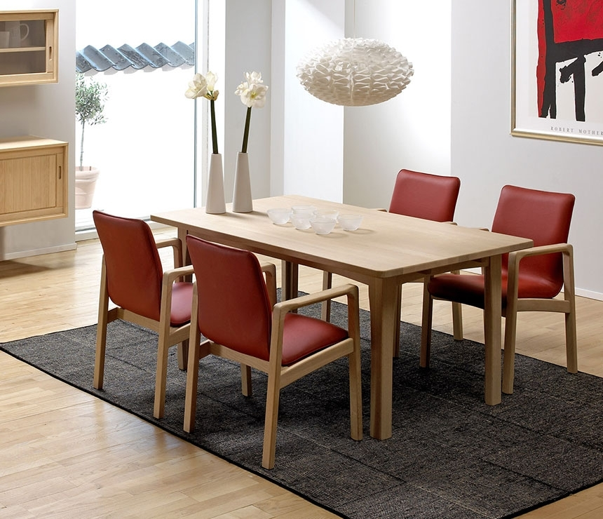 Classic Dining Room Tables – Solid Wood Wharfside Danish Furniture Regarding Beech Dining Tables And Chairs (Image 16 of 25)
