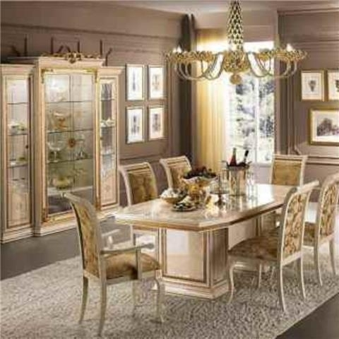 Classic & Modern Italian Dining With Regard To Italian Dining Tables (View 15 of 25)