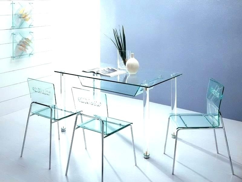 Clear Acrylic Dining Chairs Acrylic Dining Chairs Inspirational With Acrylic Dining Tables (Image 12 of 25)