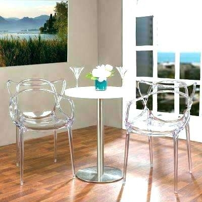 Clear Dining Table Ghost Chair Dining Table Dining Table With Ghost Regarding Clear Plastic Dining Tables (Image 9 of 25)