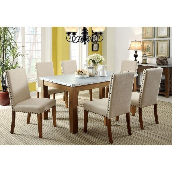 Clearance Walsh Natural 5 Piece Dining Set In 2018 | Dining Room With Delfina 7 Piece Dining Sets (Image 6 of 25)