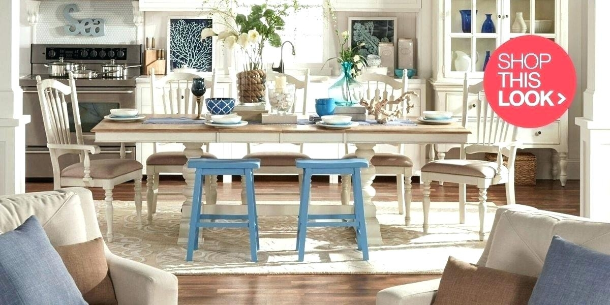 Coastal Dining Room Ideas Coastal Dining Table Extra Coastal Dining Within Coastal Dining Tables (Image 12 of 25)