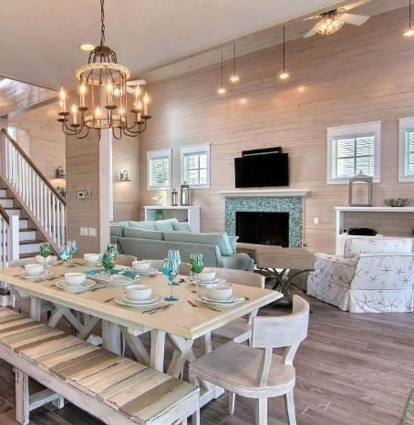 Coastal Dining Room Ideas – Www (Image 11 of 25)