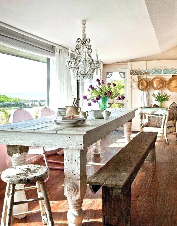 Coastal Dining Room Sets Beach House Dining Table Coastal Dining With Regard To Coastal Dining Tables (View 13 of 25)