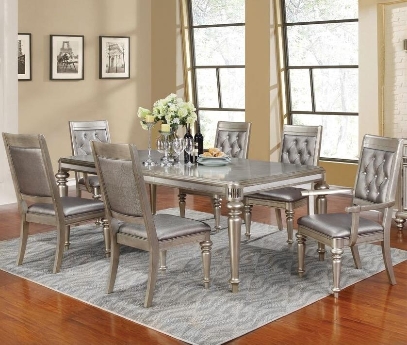 Coaster Danette Rectangular Dining Table Set With Leaf | Value City Intended For Rectangular Dining Tables Sets (Image 9 of 25)