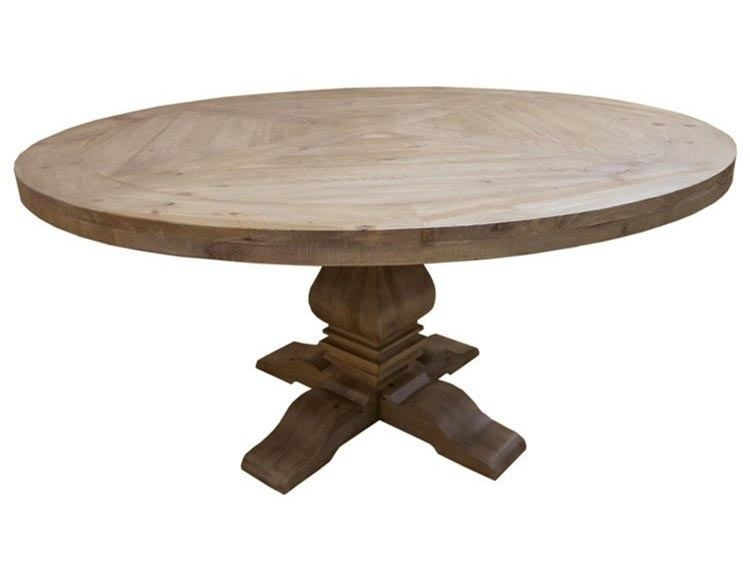Coaster Donny Osmond Home Florence Round Pedestal Dining Table In Regarding Florence Dining Tables (Image 2 of 25)