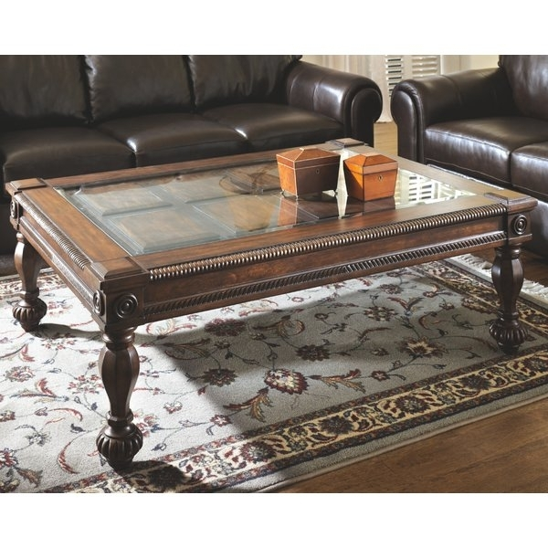 Coffee Tablesashley | Wayfair Throughout Carly Triangle Tables (Image 10 of 25)