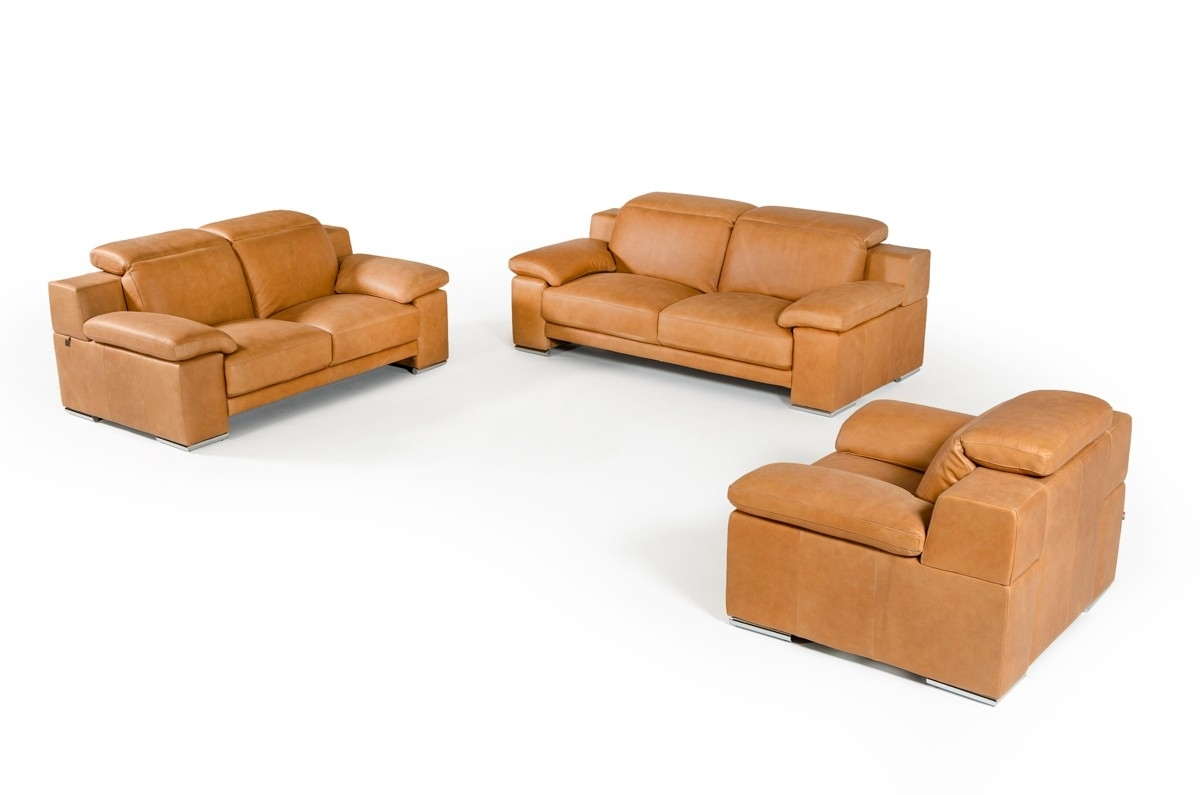 Cognac Sofa (Image 10 of 25)