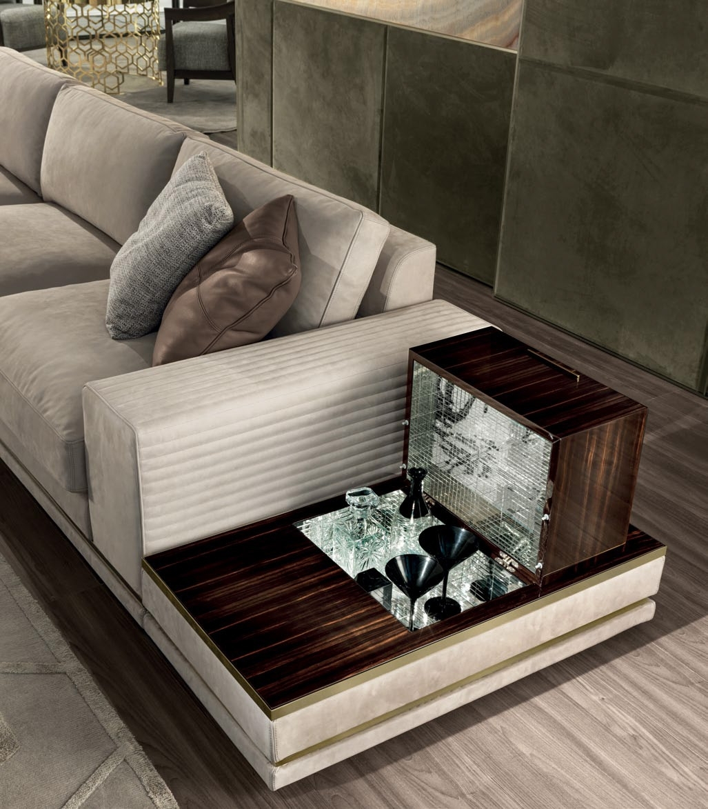 Cohen High End Italian Sofa – Italian Designer & Luxury Furniture At For Cohen Down 2 Piece Sectionals (Image 4 of 25)