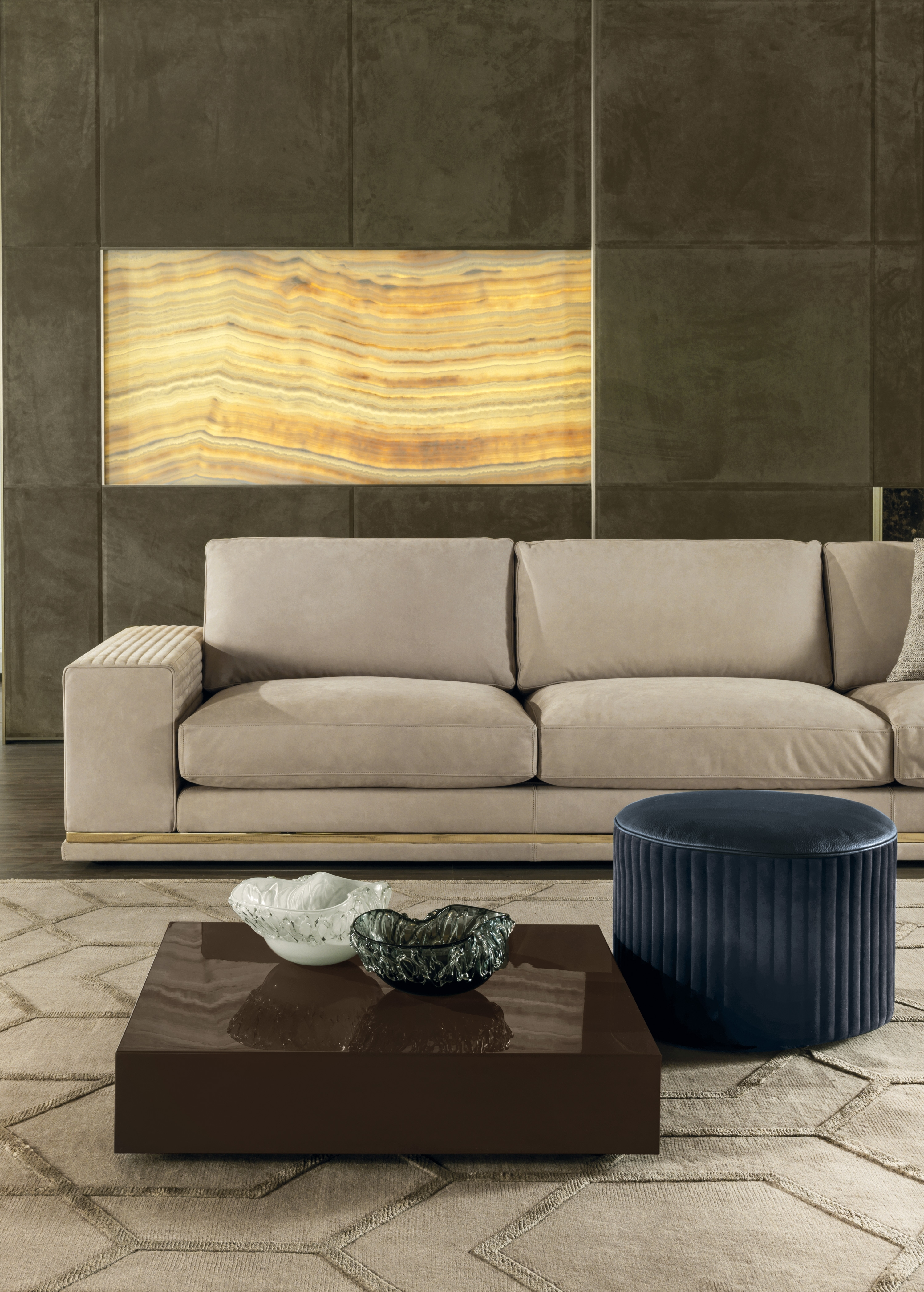 Cohen High End Italian Sofa – Italian Designer & Luxury Furniture At Throughout Cohen Down 2 Piece Sectionals (Image 7 of 25)