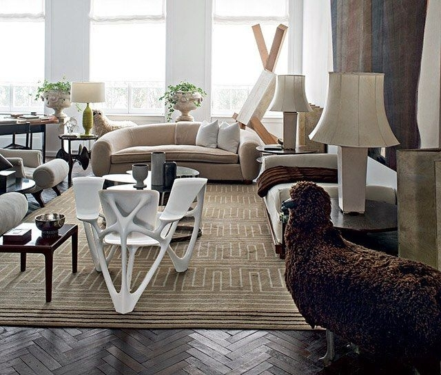 Collectedcelebrated Designers Delphine And Reed Krakoff For The In Delfina 7 Piece Dining Sets (Image 7 of 25)