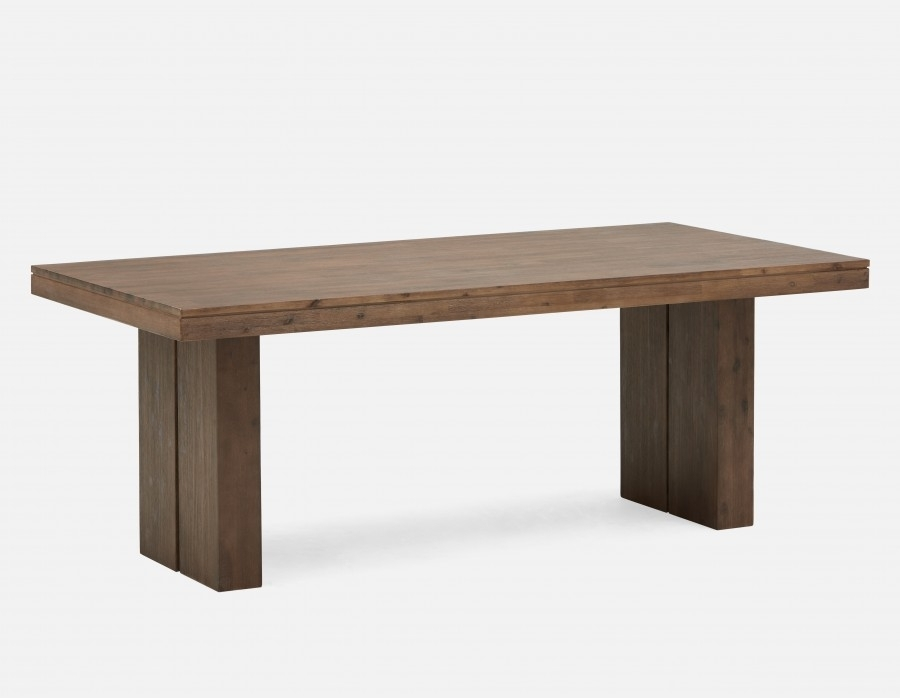 Cologne Acacia Wood Dining Table | Structube Within Wood Dining Tables (Image 4 of 25)