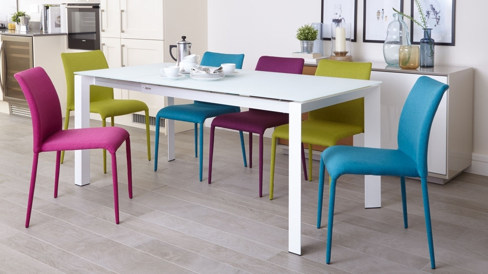 Colored Dining Room Chairs – Domainmichael Regarding Colourful Dining Tables And Chairs (View 18 of 25)