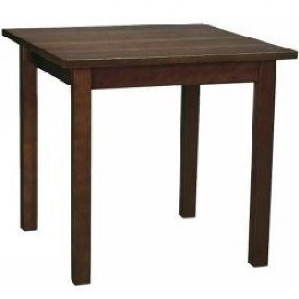 Commercial Wooden Restaurant Dining Tables – Dark Wood Dining Furniture Throughout Dark Solid Wood Dining Tables (View 20 of 25)