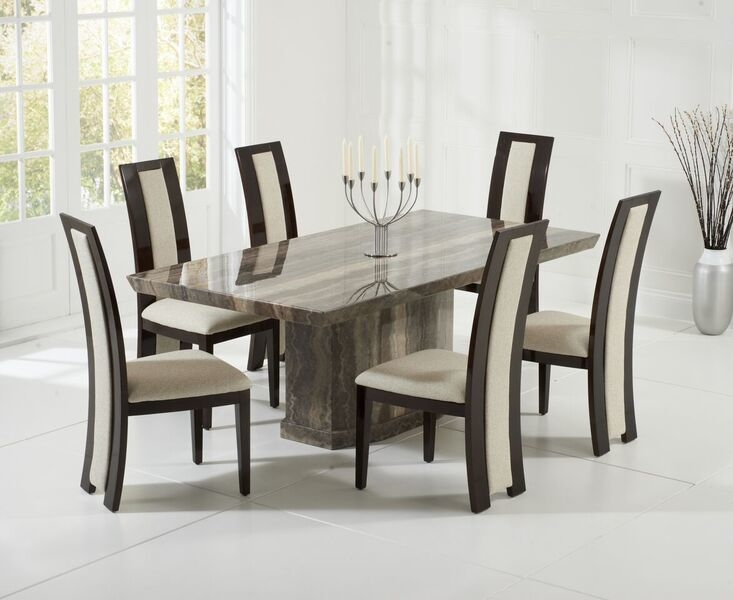 Como Marble Dining Table | Dining Tables Intended For Como Dining Tables (Image 12 of 25)