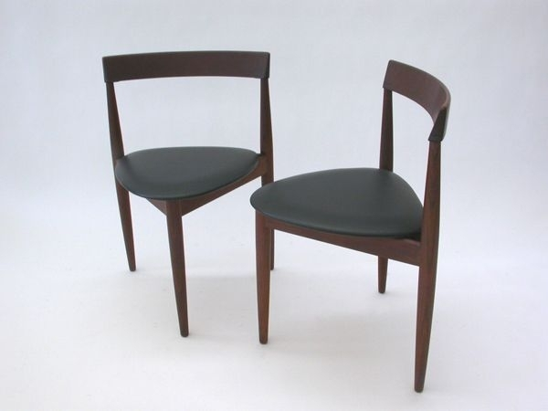 Compact Dining Chairshans Olsen For Frem Rojle, Set Of 4 For Intended For Compact Dining Sets (Image 3 of 25)