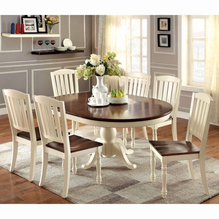 Compact Dining Set Beautiful Improbable Home Model For Round Dining Inside 6 Person Round Dining Tables (Image 9 of 25)