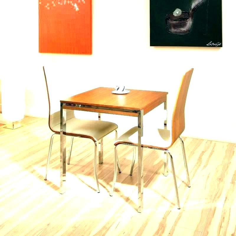 Compact Dining Table And Chairs Best Small Dining Tables Small Regarding Dining Tables And 2 Chairs (Image 6 of 25)