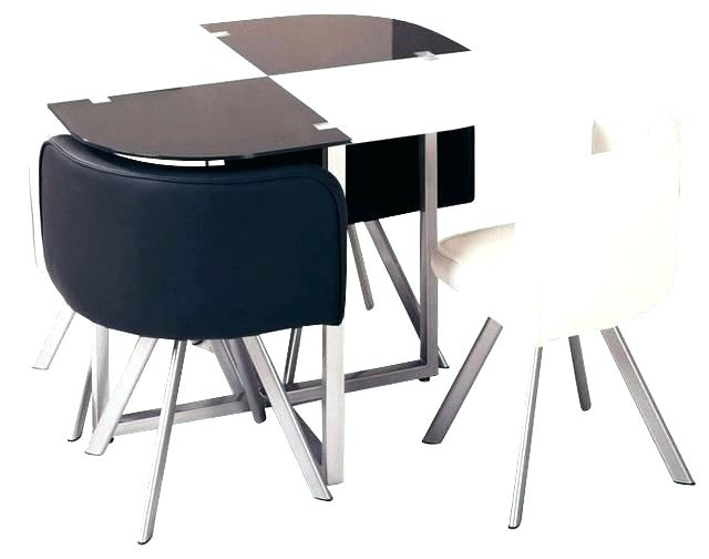 Compact Dining Table And Chairs Small Set For 2 Room Sets Ebay Comp In Compact Dining Tables (Image 4 of 25)