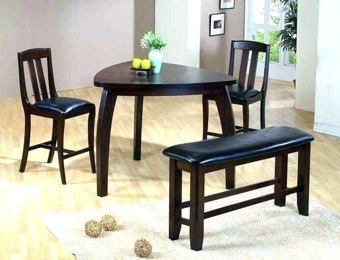 Compact Dining Table Set For 4 Small 2 Target 6 Charming Black Glass Within Compact Dining Sets (Image 7 of 25)