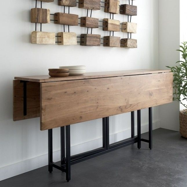 Compact Expandable Dining Table |  Expandable Table (Image 3 of 25)