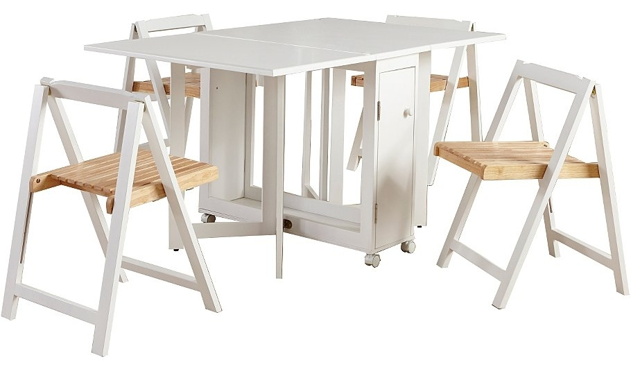 Compact Folding Dining Table And Chairs Within Idea – Chair For Compact Folding Dining Tables And Chairs (Image 5 of 25)