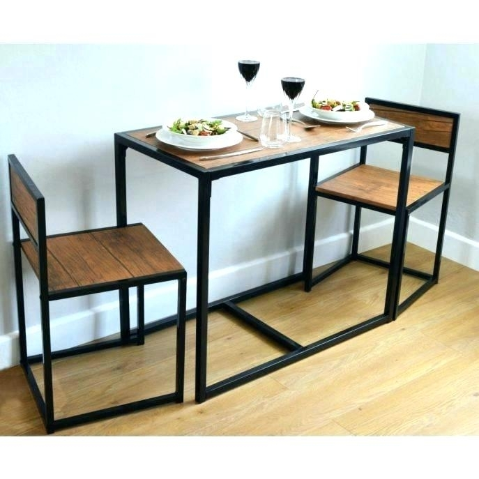 Compact Kitchen Table Dining Tables 2 Person Dining Table 8 Kitchen Throughout Compact Dining Tables (Image 12 of 25)