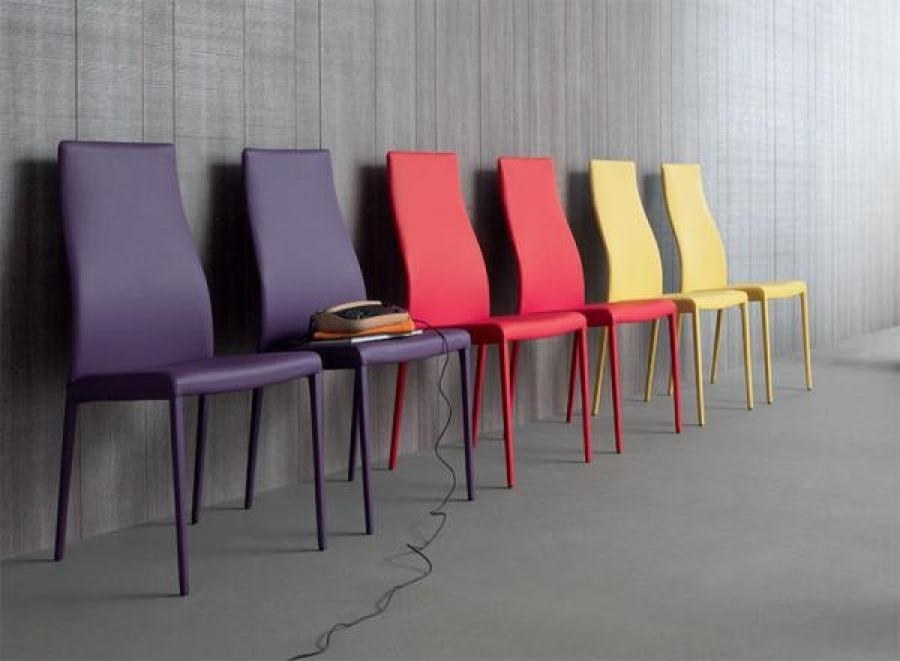 Compar, Miarylin, Eco Leather Or Leather Dining Chair |Trendy For Purple Faux Leather Dining Chairs (View 14 of 25)